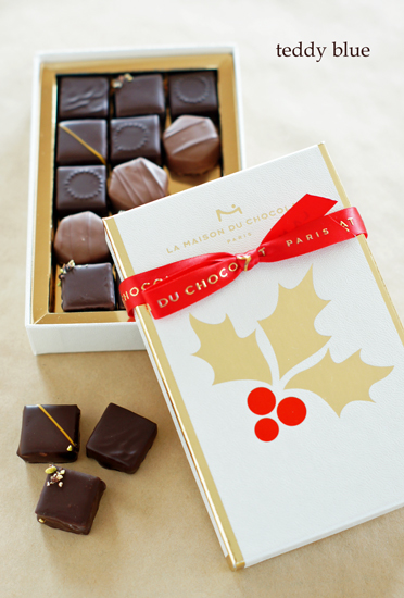 La Maison Du Chocolat Noel メゾンドショコラのノエル_e0253364_1791223.jpg