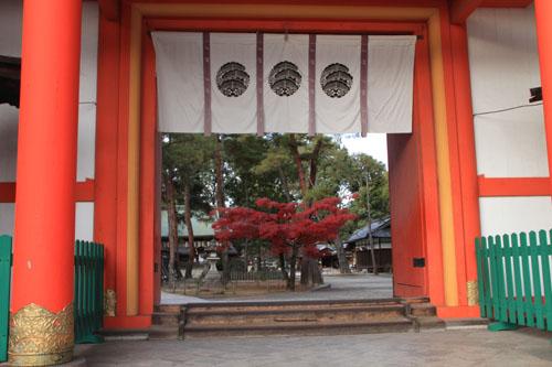 紅葉だより59 今宮神社_e0048413_19464181.jpg