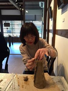 第35回 むくのき倶楽部陶芸教室_f0233340_2373974.jpg