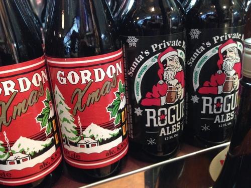 【クリスマス限定ボトル♪】ベルギーからゴードン、オレゴンからローグ♪_c0069047_17433458.jpg