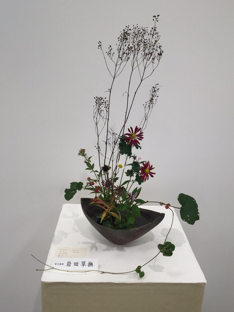 野の花いけばな展_d0163247_13380396.jpg