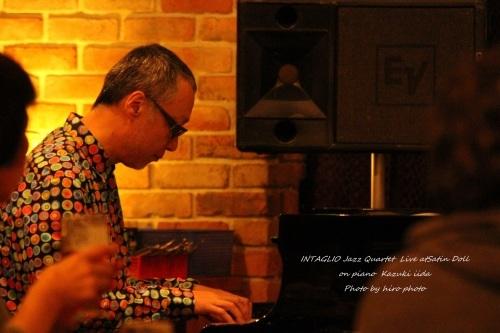 INTAGLIO Jazz Quartet Live_b0328557_18310995.jpg