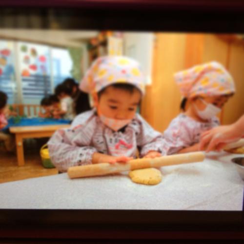 12月9日の給食 クッキー作りをしました♪_c0293682_16554528.jpg