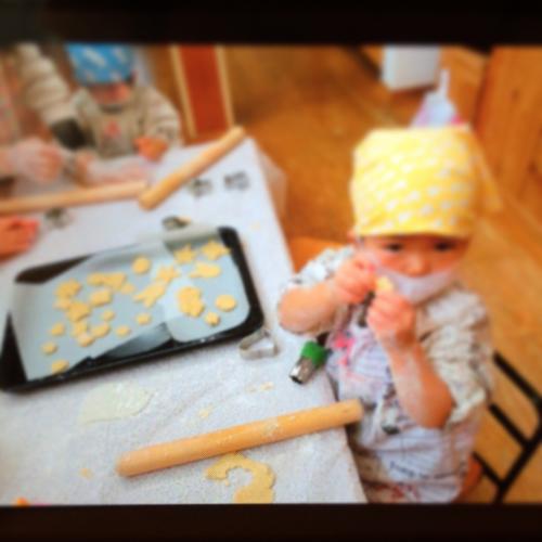 12月9日の給食 クッキー作りをしました♪_c0293682_16554611.jpg