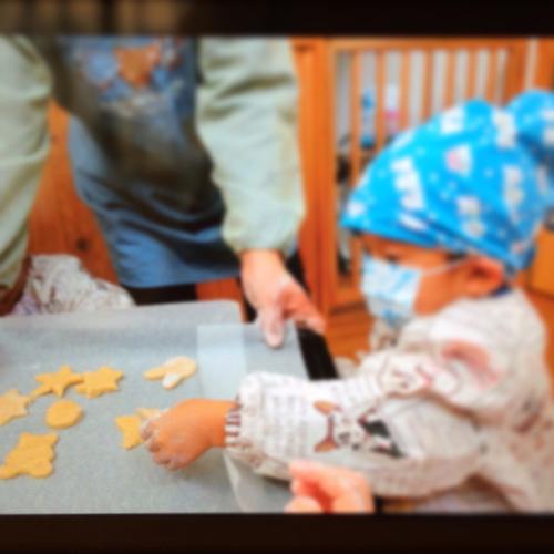 12月9日の給食 クッキー作りをしました♪_c0293682_16554613.jpg