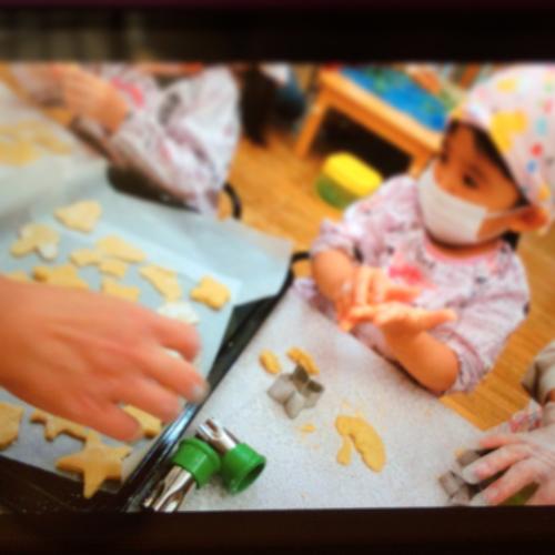 12月9日の給食 クッキー作りをしました♪_c0293682_16554622.jpg