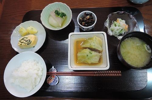 季節の野菜でおふくろの味★_f0223914_1654319.jpg
