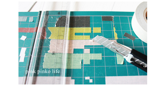 マスキングテープで簡単 ☆雑貨作り_d0351435_17434619.jpg