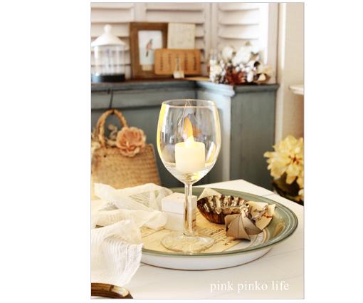 ワイングラスでインテリア_d0351435_17435741.jpg