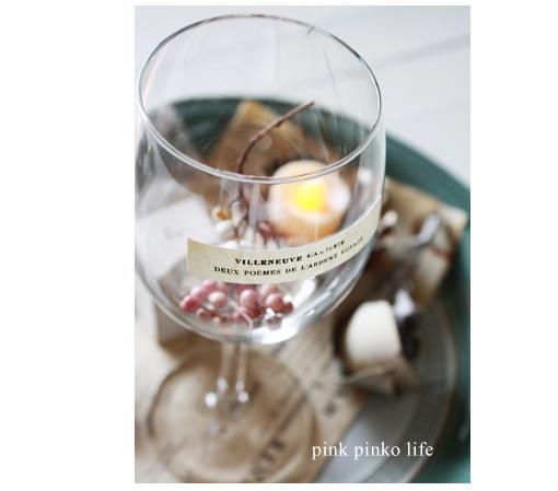 ワイングラスでインテリア_d0351435_17435748.jpg