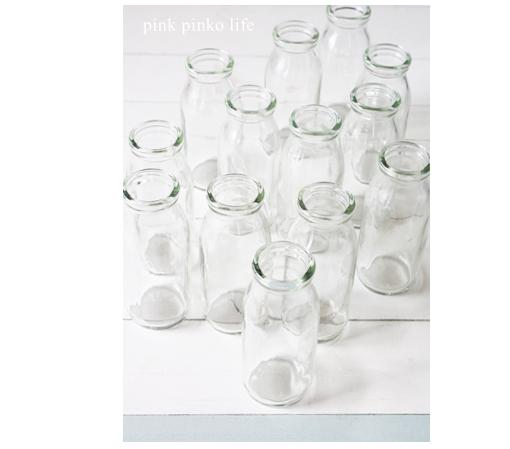 瓶牛乳がかわいく変身 ♪_d0351435_17501079.jpg