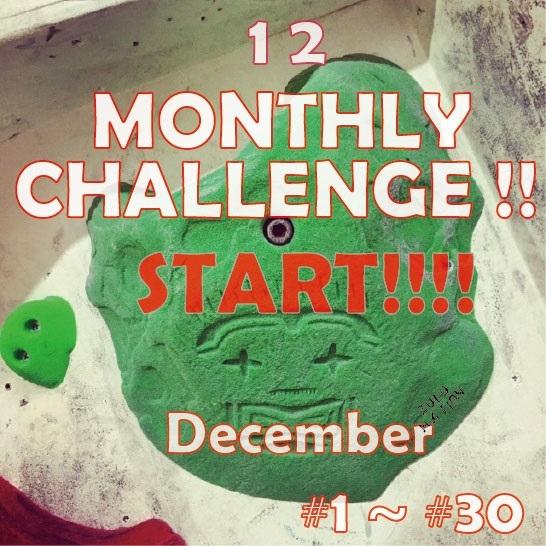 MONTHLY CHALLENGE 12月_d0246875_23315699.jpg