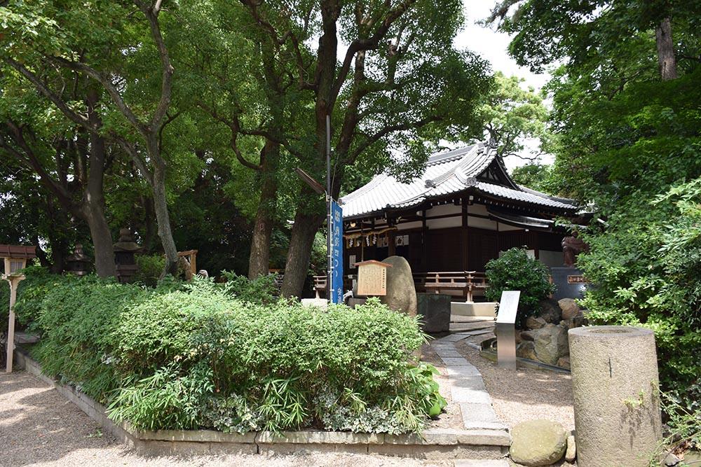 大坂の陣400年記念ゆかりの地めぐり その35 ~安居神社(真田幸村終焉の地)~_e0158128_1639267.jpg