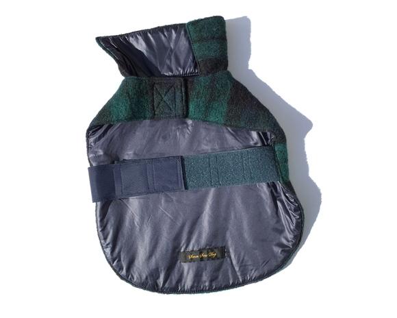 Black Watch Dog Jacket  セブンシーズ ドッグ ブラックウォッチ ドッグ ジャケット リバーシブル _d0217958_18291517.jpg