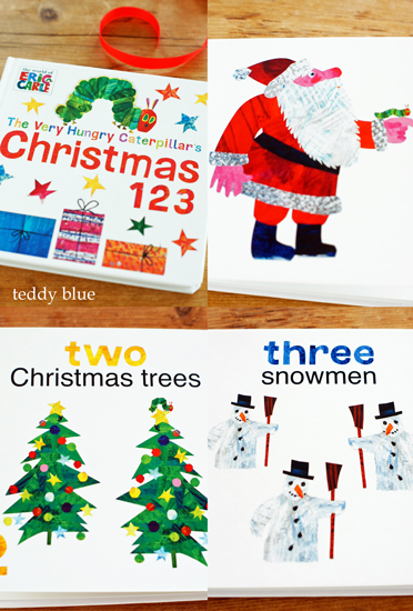 Eric Carle Christmas 123  エリックカールのクリスマス_e0253364_9252879.jpg