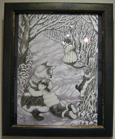 幻妖商会 企画展 「冬の肉球祭り」 猫科オンリー展 その3_e0134502_826220.jpg