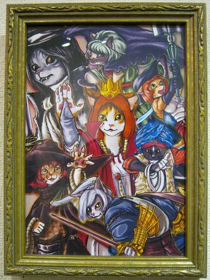 幻妖商会 企画展 「冬の肉球祭り」 猫科オンリー展 その3_e0134502_8441159.jpg