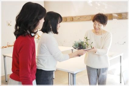 大切な人に贈るクリスマステーブル☆ ~インストラクタークラス_d0217944_13483197.jpg