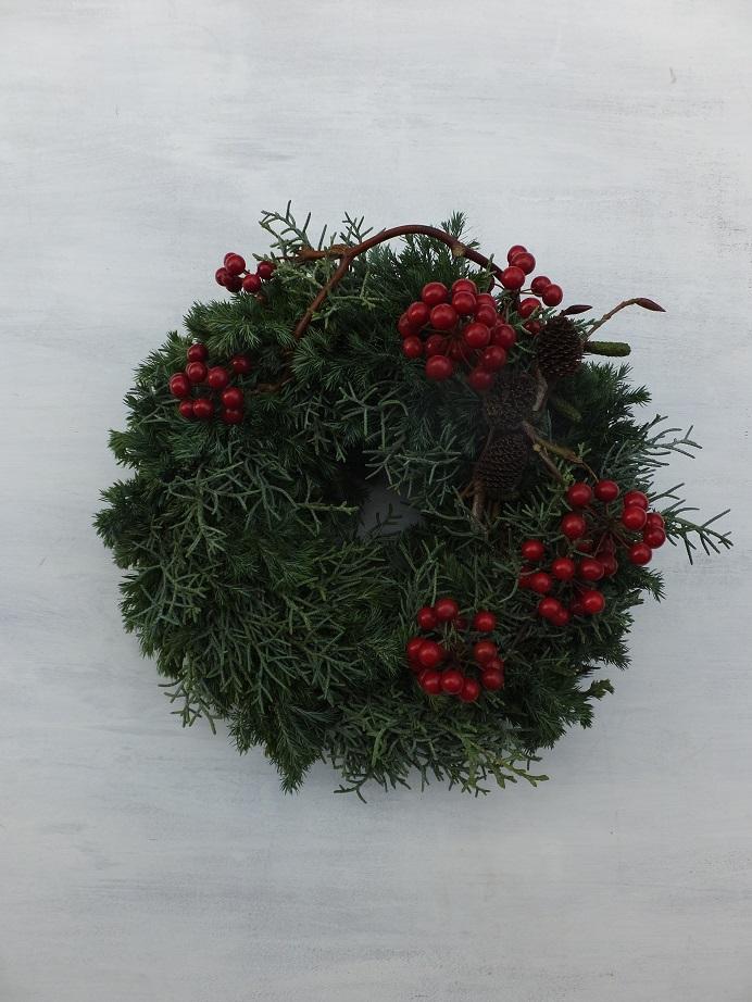 オークリーフ(クリスマスリースⅢ)_f0049672_18105564.jpg