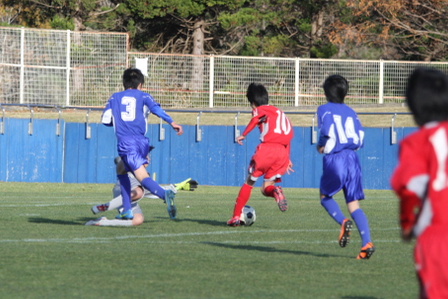 U-14 新人戦 順位トーナメント:vs 多賀城FC December 5, 2015_c0365198_09530539.jpg