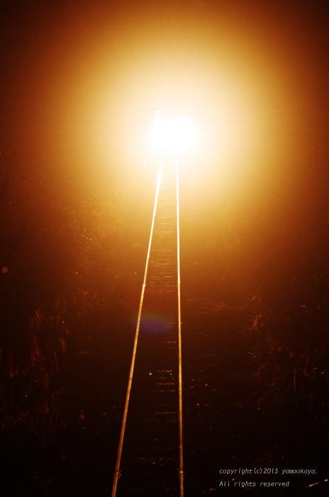 始発列車の灯り_d0309612_1122762.jpg