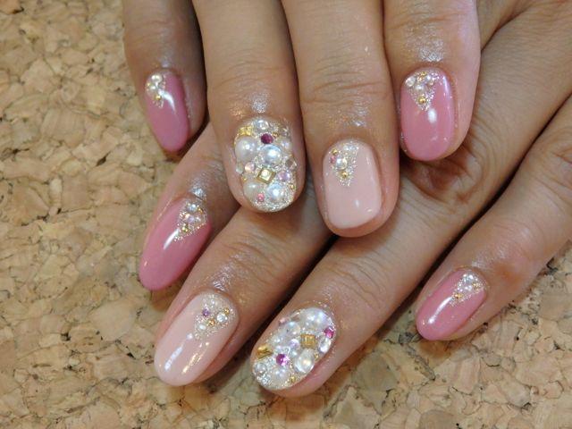 Pink Nail_a0239065_15515042.jpg