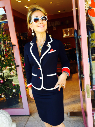 素敵すぎる、大人のマリンジャケット!@Regina Romantico_f0215324_10533070.jpg
