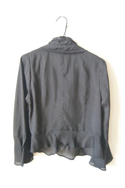 着物リメイク・絽の着物で作ったボレロ_d0127925_1646069.jpg