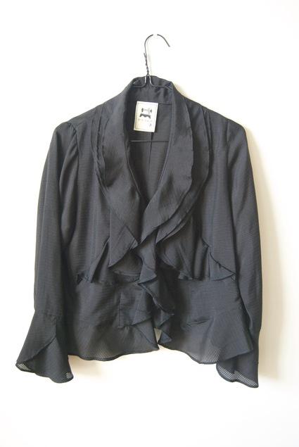 着物リメイク・絽の着物で作ったボレロ_d0127925_16461724.jpg