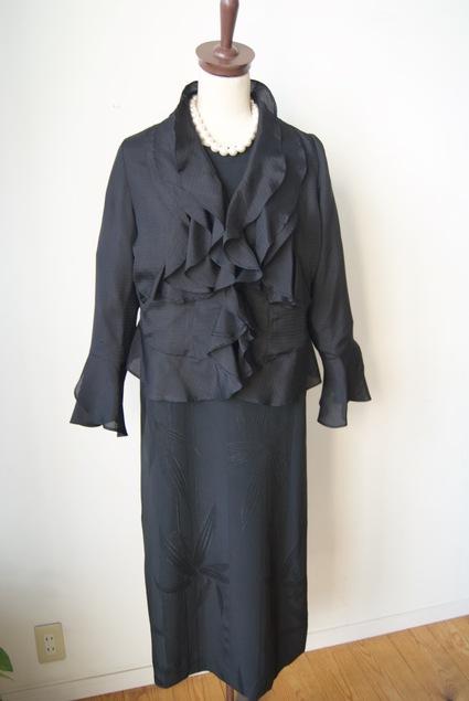 着物リメイク・絽の着物で作ったボレロ_d0127925_16463232.jpg