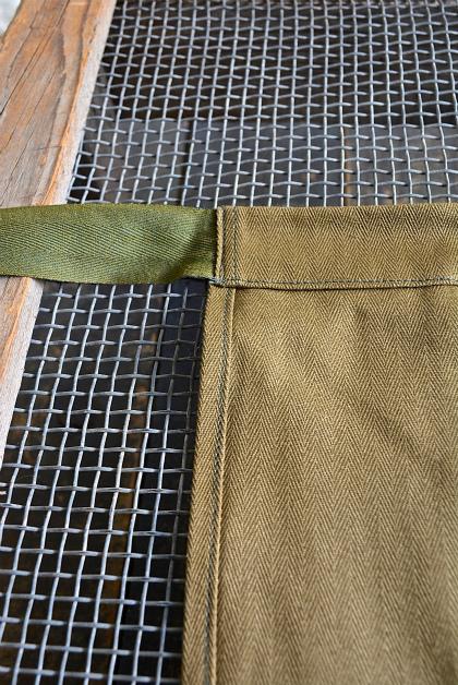 Czech army herring bone apron dead stock_f0226051_13411936.jpg