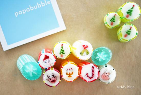 papabubble christmas  パパブブレのクリスマスキャンディ_e0253364_2227387.jpg