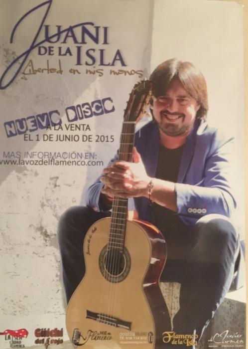 Juani De La Islaコンサート@代々木カデーナ_b0131865_02093647.jpg