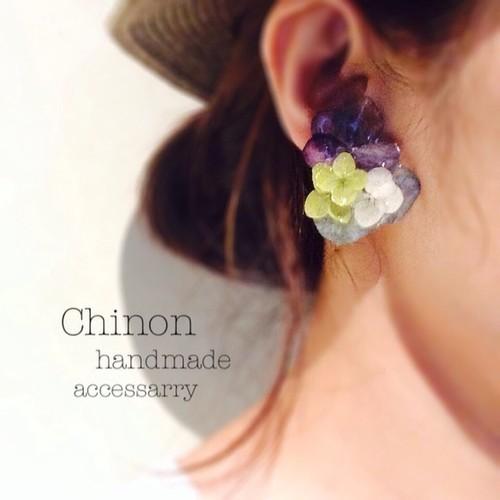 Chinonさんのお花アクセサリー_a0232169_16172361.jpg