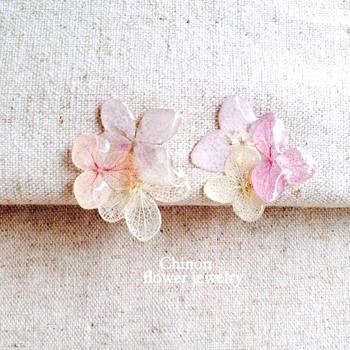 Chinonさんのお花アクセサリー_a0232169_1617509.jpg