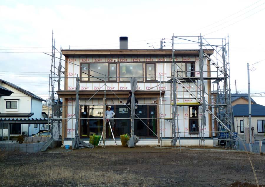 A様邸「新山前の家」工事中です。_f0150893_1836883.jpg