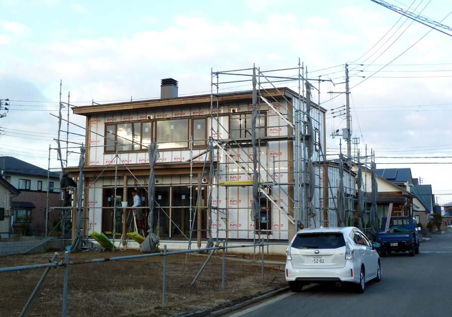 A様邸「新山前の家」工事中です。_f0150893_18403893.jpg