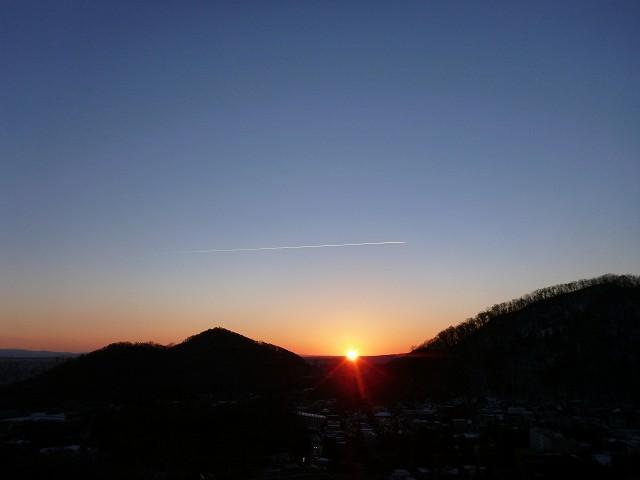 朝日とか♪_c0048117_15272136.jpg