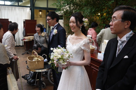 新郎新婦様からのメール リストランテASOの花嫁様 ブーケのような空の色に _a0042928_19344653.jpg