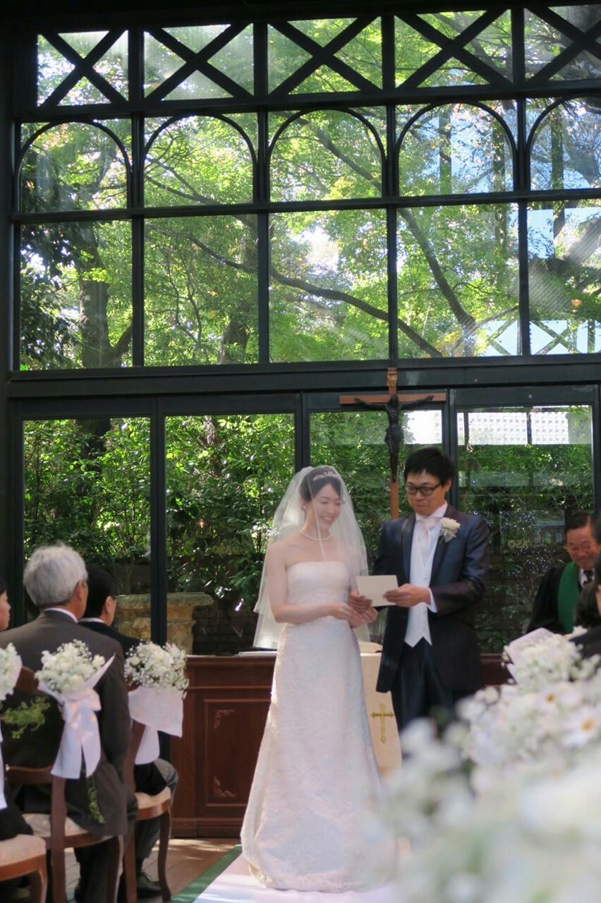 新郎新婦様からのメール リストランテASOの花嫁様 ブーケのような空の色に _a0042928_1934727.jpg