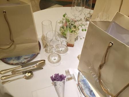 新郎新婦様からのメール リストランテASOの花嫁様 ブーケのような空の色に _a0042928_19362984.jpg