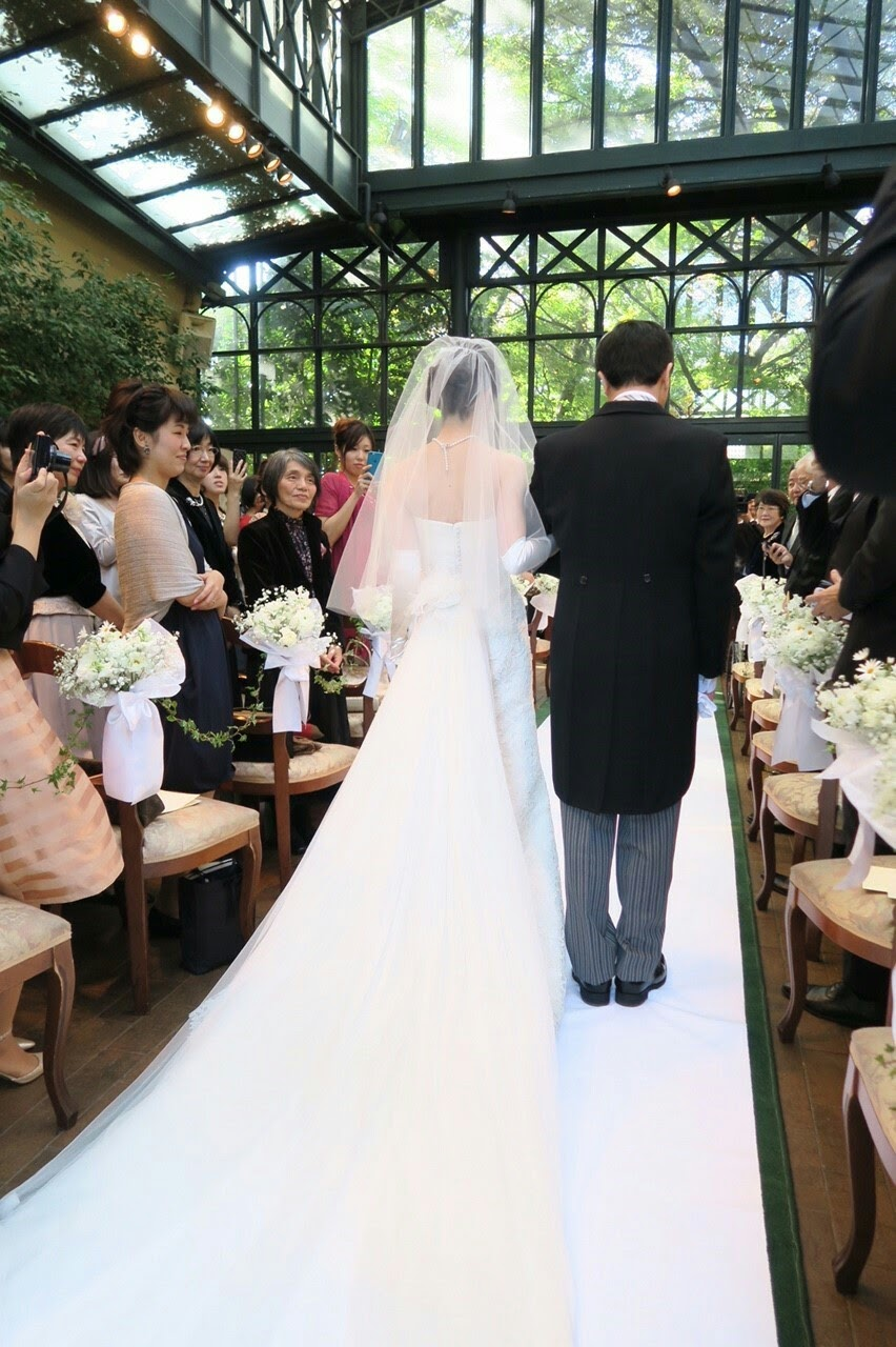 新郎新婦様からのメール リストランテASOの花嫁様 ブーケのような空の色に _a0042928_19374921.jpg