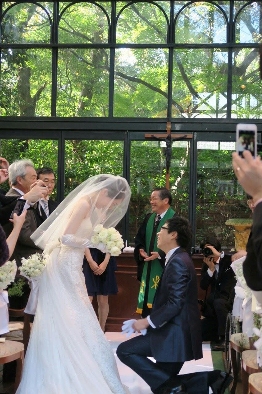 新郎新婦様からのメール リストランテASOの花嫁様 ブーケのような空の色に _a0042928_19382627.jpg