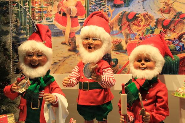 ラインのほとりから ♪ クリスマスのショーウインドウ_e0295348_2211397.jpg