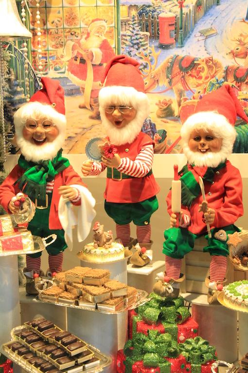 ラインのほとりから ♪ クリスマスのショーウインドウ_e0295348_22114984.jpg