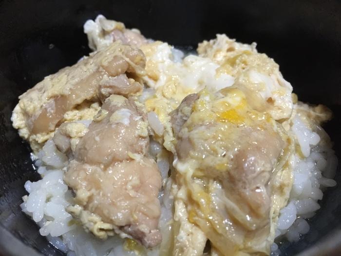見た目超地味だけどウチのツユだく親子丼美味しいよ~♪_c0110051_9404191.jpg