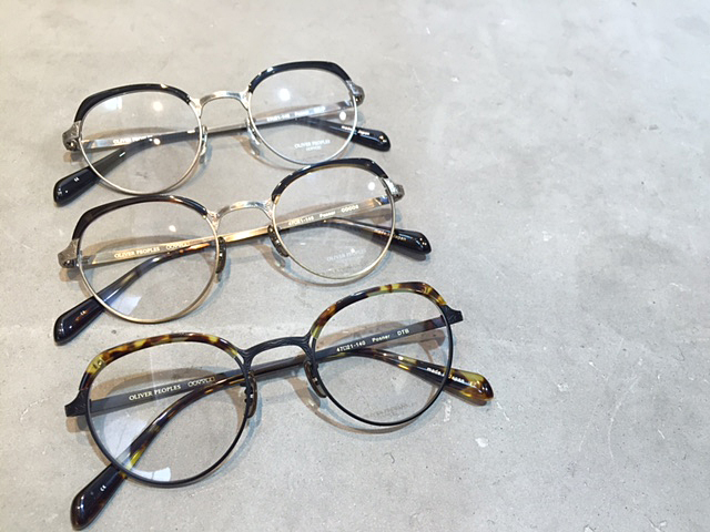OLIVER PEOPLES 2016 NEW ARRIVAL_f0208675_1191344.jpg