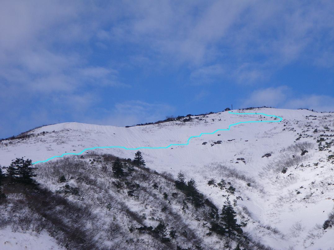 ソロで蔵王・刈田岳へ ~ 2015年12月13日_f0170180_325653.jpg