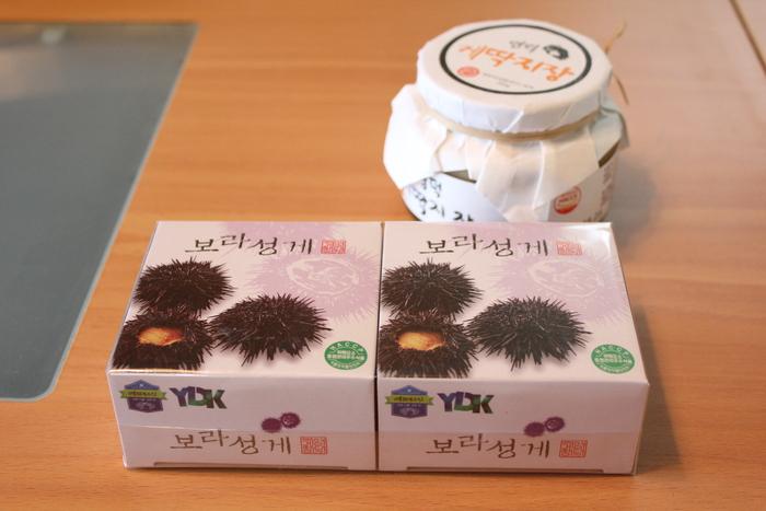 ソウルのおみやげ 新世界フードマーケット編  韓国のかに味噌で、かに味噌入りかにのビビンバ作ってみた_a0223786_20112467.jpg