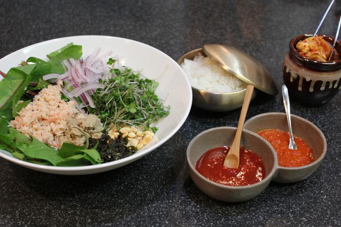 ソウルのおみやげ 新世界フードマーケット編  韓国のかに味噌で、かに味噌入りかにのビビンバ作ってみた_a0223786_208043.jpg